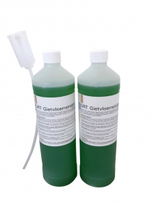 Reinigingsmiddelen: Reinigingsmiddel dagelijks 1 liter (verpakt per 2 stuks)