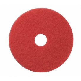 Schrobbers: Polyester pad rood 11