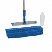 Onderhoudsmiddelen: Microvezel Vloerwisset inclusief sprenklersteel met reservoir
