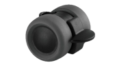 Accessoires: Zwenkwiel 40mm Basic met rem / 10