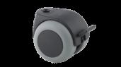 Accessoires: Zwenkwiel 50mm Basic met rem / 8